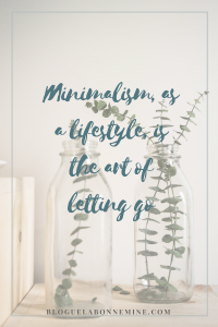 choisir un mode de vie minimaliste durant la maladie