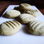 biscuits shortbread au thé vert matcha
