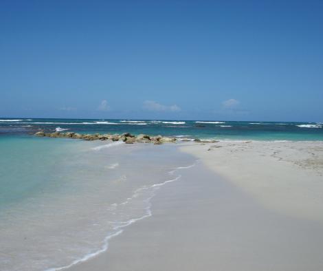 plage caraïbe sable blanc caraïbes