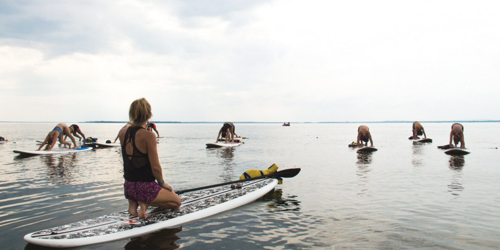 lac st-louis Mélissa Vaillancourt SUP yoga