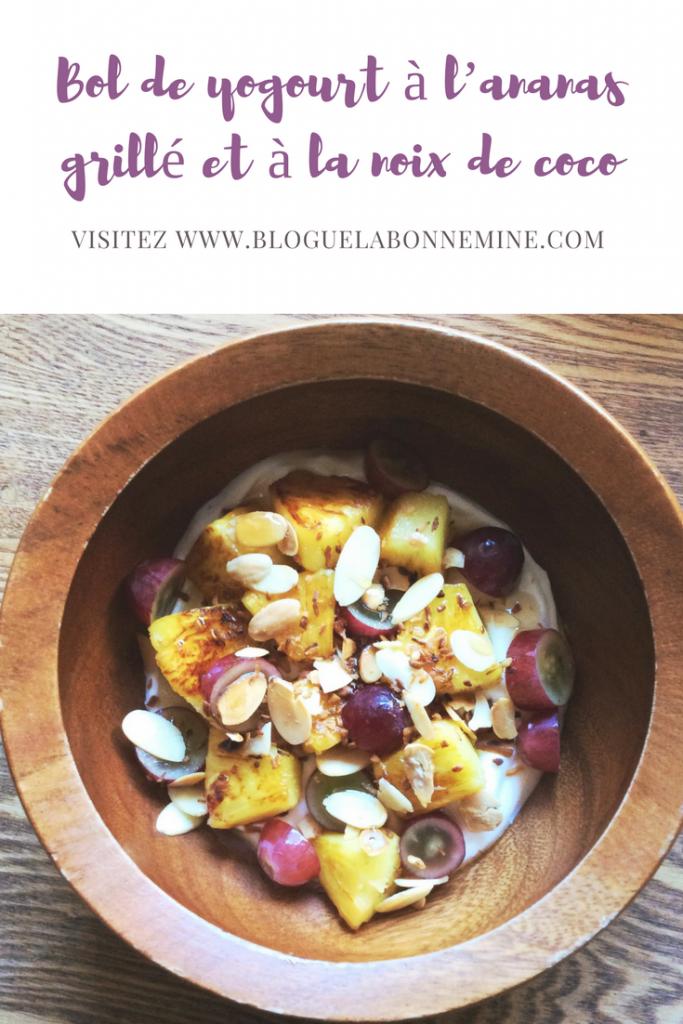 ananas grillé recette raisin