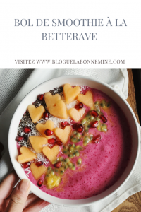 Bol de smoothie à la betterave