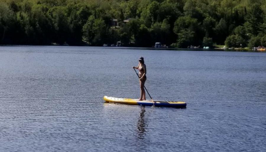 paddle surf mode de vie sain
